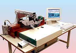 プリント基板セミオート実装機