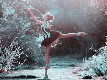 バレエ基本動作:憧れのアラベスク
