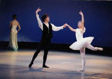 バレエでシェイプアップ