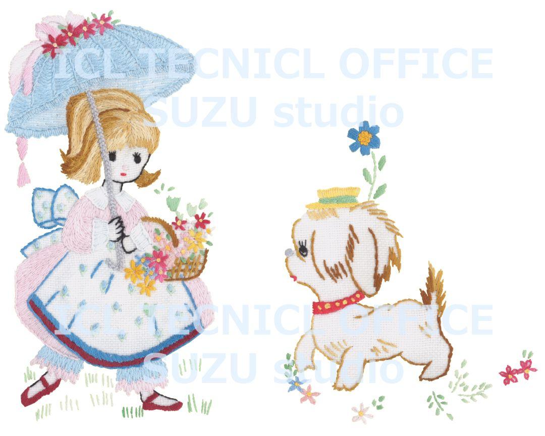 アンと愛犬ラプラス