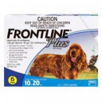 フロントラインプラス 海外輸入品 中型犬用