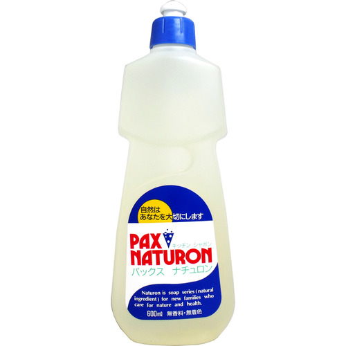 パックスナチュロン キッチンシャボン 食器洗い用石けん 600mL