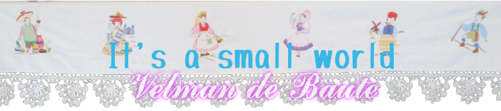 header sticker It's a small world