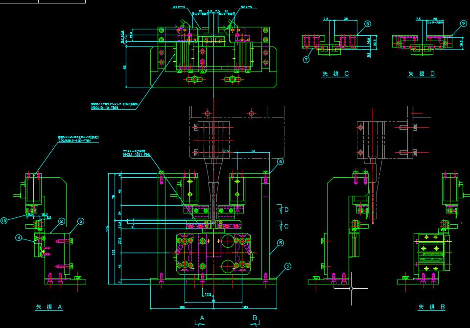 FA設備の設計図例