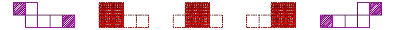 立方体 展開図3