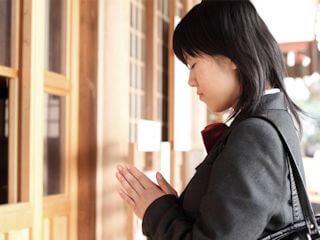 ICLサンプル塾の合格祈願は不要です