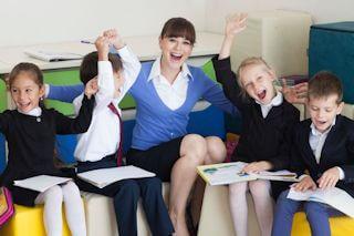ICLサンプル塾の授業風景