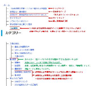 8ページpack サイトマップ例