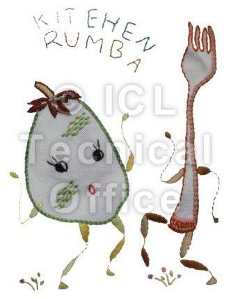 刺繍デザイン画像053:ルンバ茄子