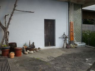 桃太郎さんのお宿の入り口正面