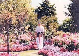 Garden of factory in Christchurch・・・1985/01/28