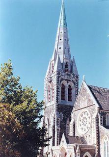 The Cathedral(1) in Christchurch・・・1985/01/28