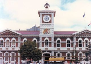 Post Office in Christchurch・・・1985/01/31