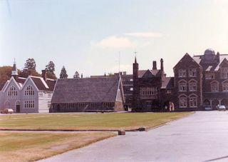 University of Canterbury, former school building・・・1985/01/30
