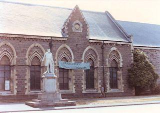 The Canterbury Museum・・・1985/01/30