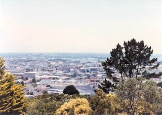 The view of Auckland city・・・1985/02/01