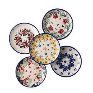 CERAMICA ARTYSTYCZNA(セラミカ・アルティスティッチナ)プティバイオレット・ジィカ・キューティ・レッドポピー・ブルーバード小皿