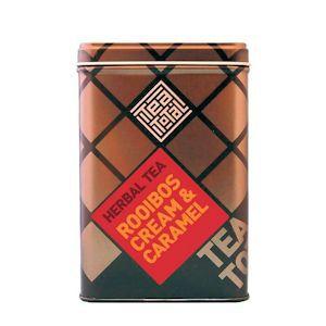 ルイボス クリーム & キャラメル ティー 茶葉 100gタイプ