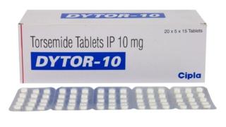 ダイトール(DYTOR) 10mg | ループ利尿剤